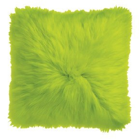Chartreuse Icelandic Pillow
