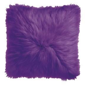 Purple Icelandic Pillow