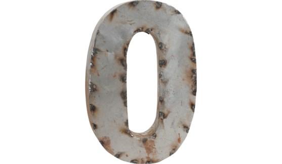 """Letter O Reclaimed Tin 10"""""""