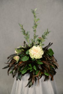 PEONY & HUCKLEBERRY TILE TOPPER