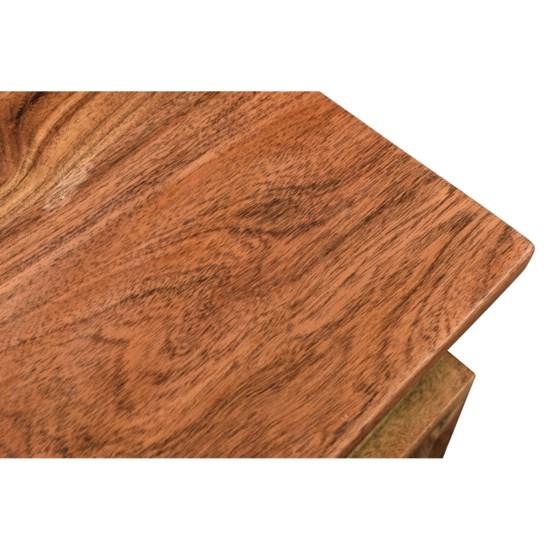 Bengal Manor Acacia Wood S Accent Table Natural Finish