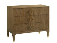 Brownstone Furniture Atherton Teak Bachelor's Chest