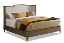 Brownstone Atherton Eastern King Bed - Cerused