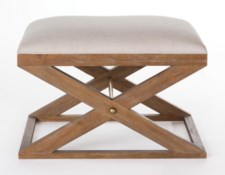 Brownstone Atherton Stool - Cerused Teak