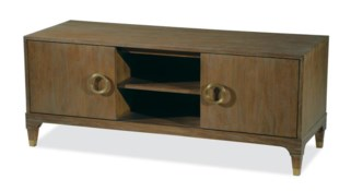 Brownstone Furniture Atherton Teak Media Console
