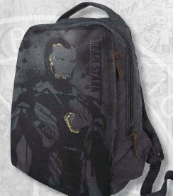 Civil War Iron Man Legends Canvas Backpack