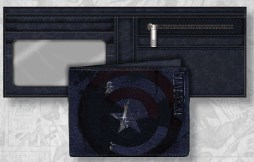 Civil War Captain America Legends Canvas Wallet