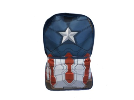 Civil War Armor Captn America Nylon Backpack