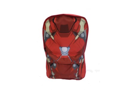 Civil War Armor Iron Man Nylon Backpack