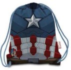 Civil War Armor Captn America Nylon Cinch Sac