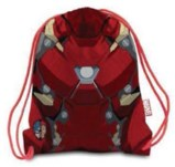 Civil War Armor Iron Man Nylon Cinch Sac