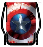 Civil War Captain America Shield  Adult Cinch Backpack