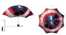 Civil War Shield Captn America Printed Umbrella