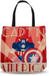 Decodant Captain America Sublimated Tote Bag