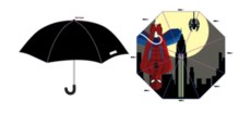 Decodant Spider-man Inside Print Umbrella