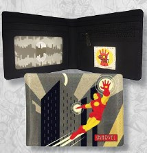 Decodant Iron Man Outside Print Wallet