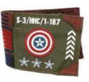 CA Vintage Military Army Canvas Wallet