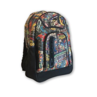 MARVEL BLACK BACK PACK