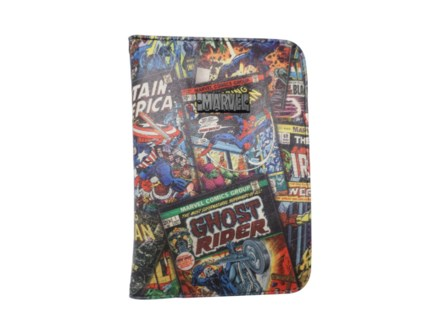MARVEL BLACK PASSPORT HOLDER