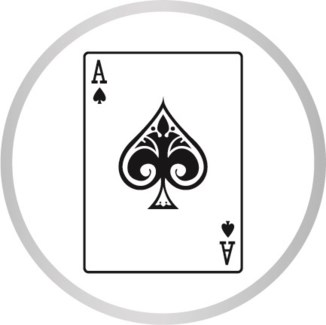 ACE OF /SPADES MARKER