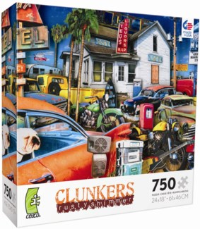 750 Piece Clunkers  Rusty Shimmer Assortment (while supplies last)