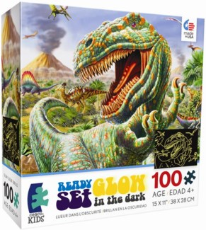 series 5, 100 Piece DINO Glow Assortment only