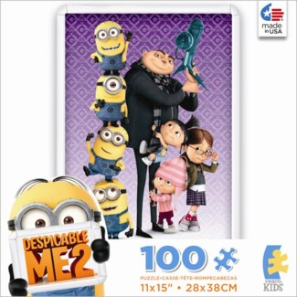 100 Piece Despicable Me 2 Puzzle Assortment only (while supplies last)