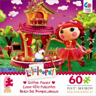 60 Piece Lalaloopsy Glitter Puzzle Assortment only (while supplies last)