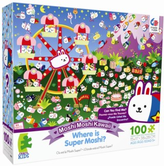 100 Piece MoshiMoshiKawaii Puzzle Assortment only (while supplies last)