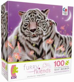 series 3, 100 Piece Furry Friends Puzzle Assortment only