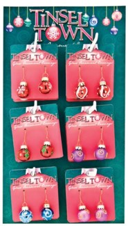 Tinsel Town Earrings 24 Piece Unit