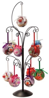 Characters Blinking Ornaments 24pc Assortment