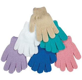 NYLON MESH GLOVES, PAIR -ASSORTED COLORS
