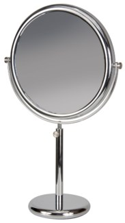 "VANITY STAND DOUBLE SIDED MIRROR, TELESCOPE 16.5""-20.0"" (42CM-51CM)"