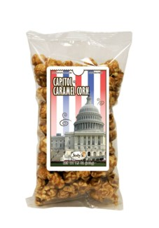 Caramel Corn with Capitol Building Label, Reg. 1076 Bag