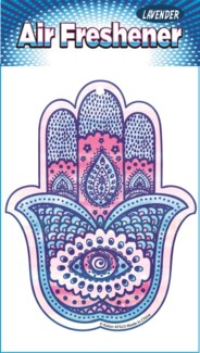 Hamsa Hand Color Air Fresheners