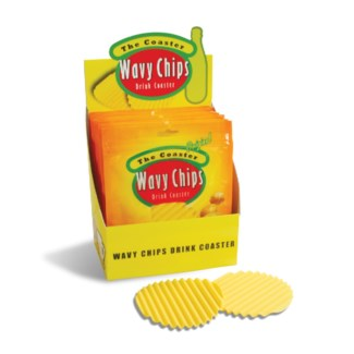 WAVY CHIPS DRINK COASTER