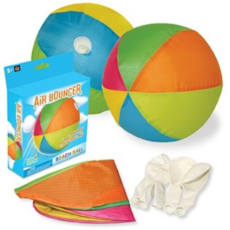 BEACH BALL AIR BOUNCER
