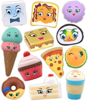 KAWAII FOOD SQUEEZES