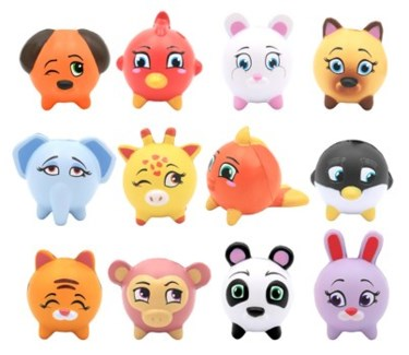 KAWAII ANIMAL SQUEEZES