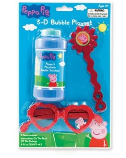 PEPPA PIG 3-D BUBBLE PLAY SET