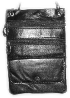 Leather Shoulder Bag 5x7
