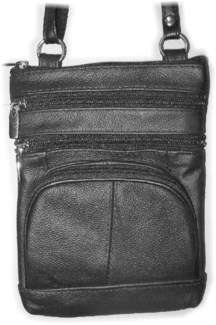 "6.5""X 8"" Leather Shoulder Bag"