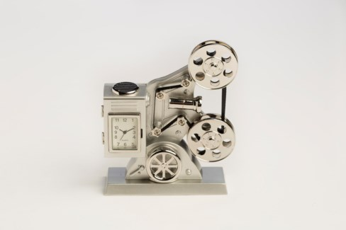 SIL OLD STYLE MOVIE PROJECTOR CLOCK
