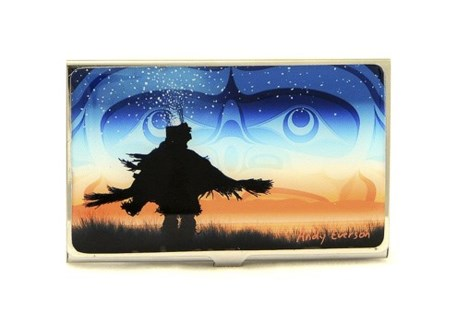 Eagle Down Dancer Card Holder