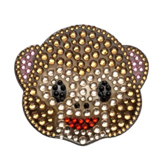 "Monkey 2"" StickerBean"