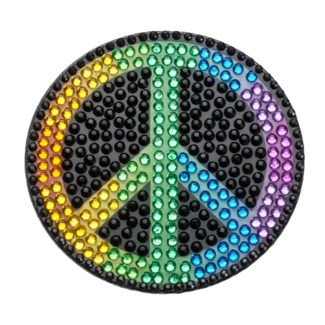 "Rainbow Peace 2"" StickerBean"
