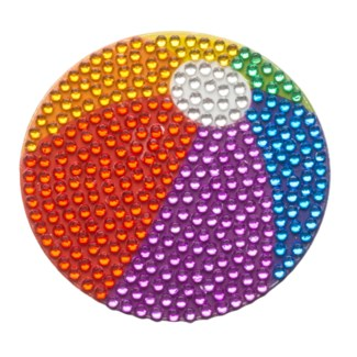 "Beachball 2"" StickerBean"