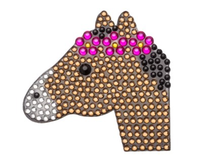 "Pony 2"" StickerBean"