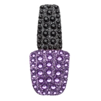 "Purple Nail Polish 2"" StickerBean"
